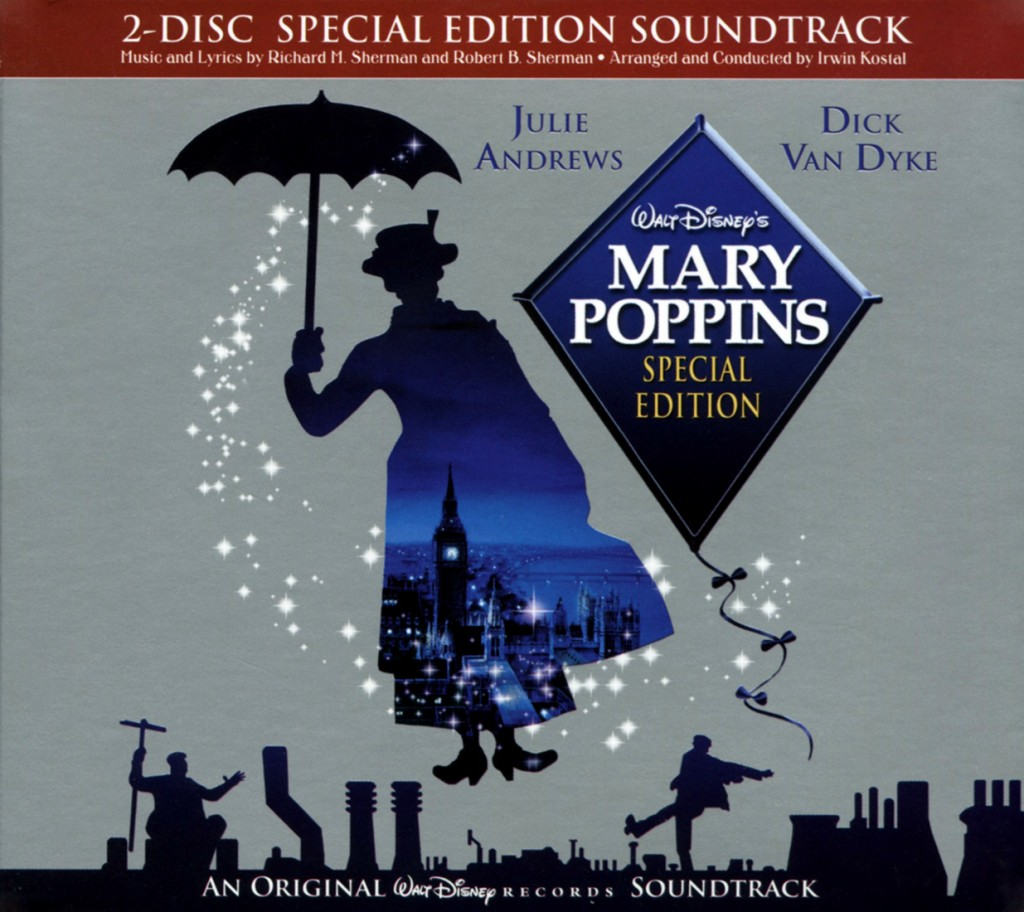 """""""Mary Poppins"""" special edition soundtrack."""