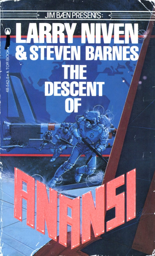 """""""The Descent of Anansi"""" by Larry Niven and Steven Barnes."""