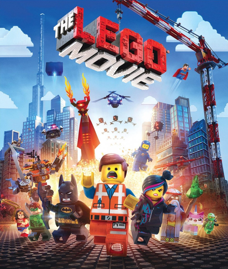 "Cover of ""The LEGO Movie"" Blu-ray."
