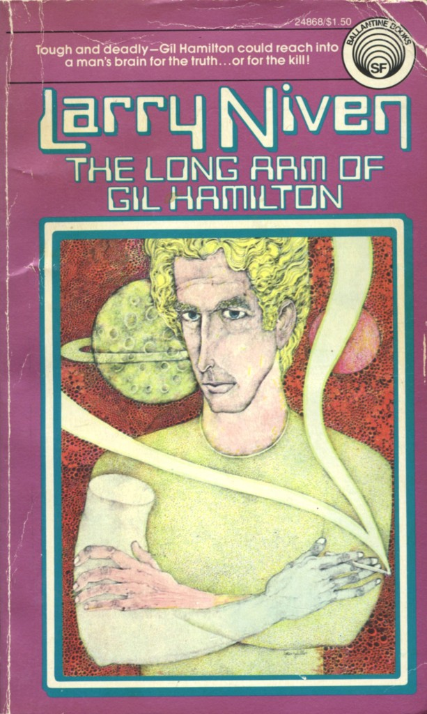 """The Long Arm of Gil Hamilton"" by Larry Niven."