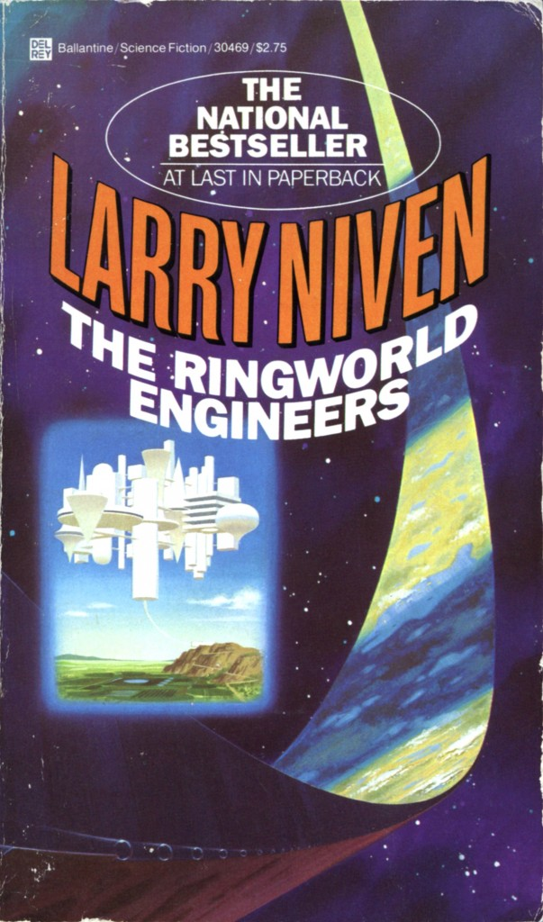 """The Ringworld Engineers"" by Larry Niven."