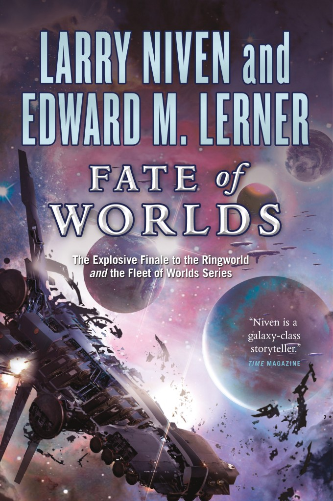 """Fate of Worlds"" by Larry Niven and Edward M. Lerner."