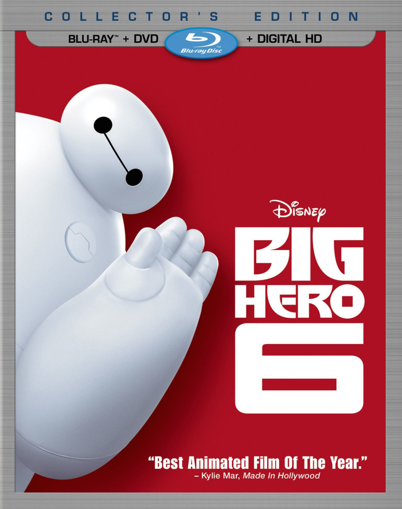 """Big Hero 6"" blu-ray."