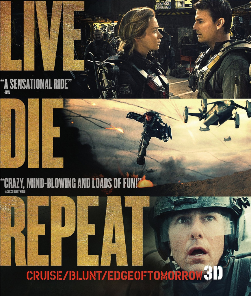 """Edge of Tomorrow""."