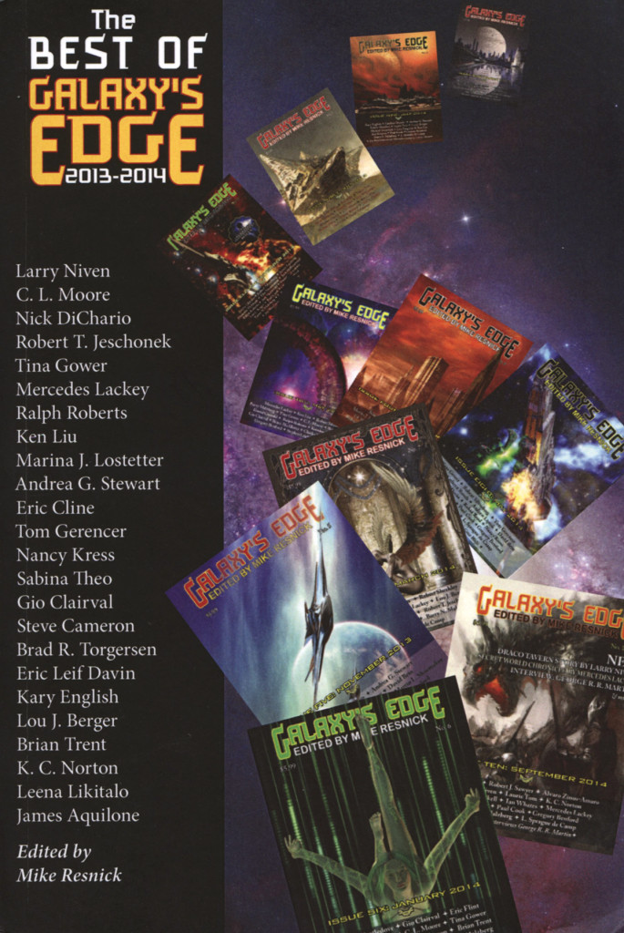 """The Best of Galaxy's Edge 2013-2014"" edited by Mike Resnick."