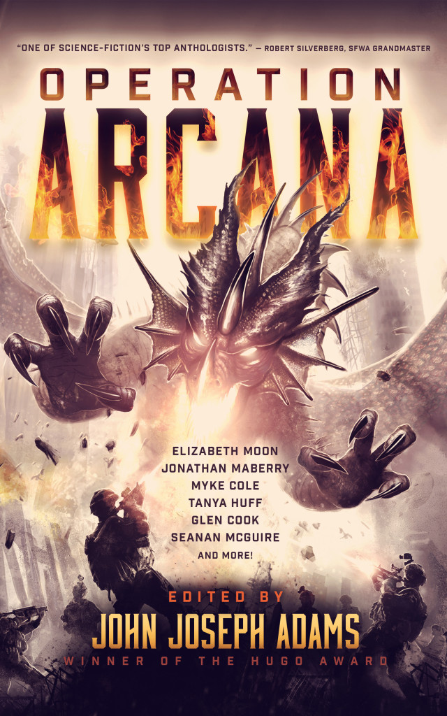 """Operation Arcana"" edited by John Joseph Adams."