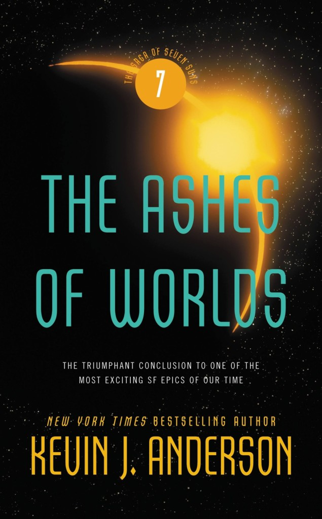 """""""The Ashes of Worlds"""" by Kevin J. Anderson."""