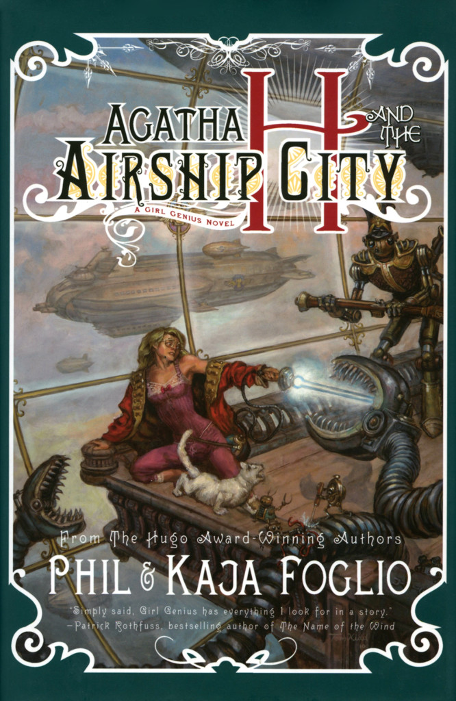 """Agatha H and the Airship City"" by Phil and Kaja Foglio."