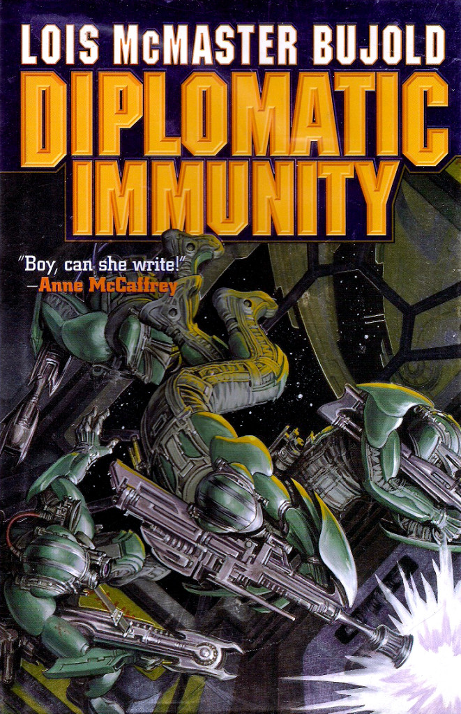 """""""Diplomatic Immunity"""" by Lois McMaster Bujold."""