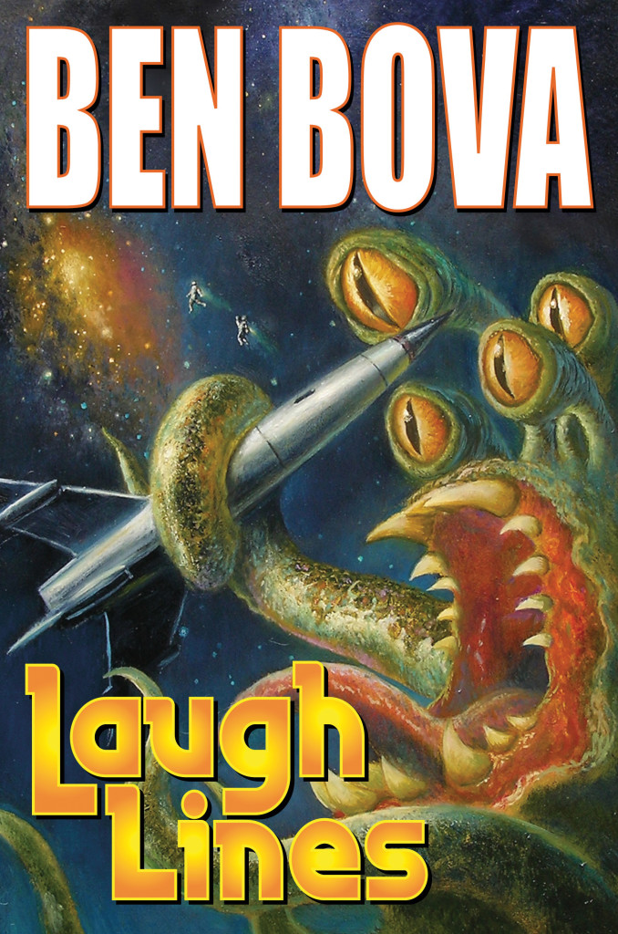 """""""Laugh Lines"""" by Ben Bova."""