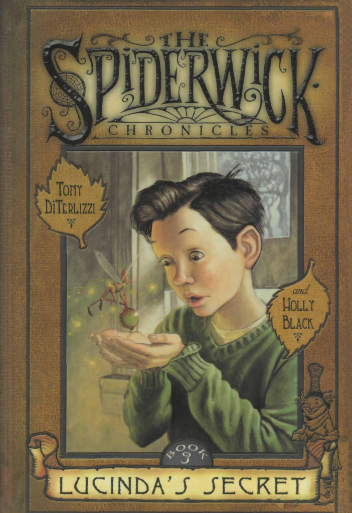 """Lucinda's Secret"" by Tony DiTerlizzi and Holly Black."