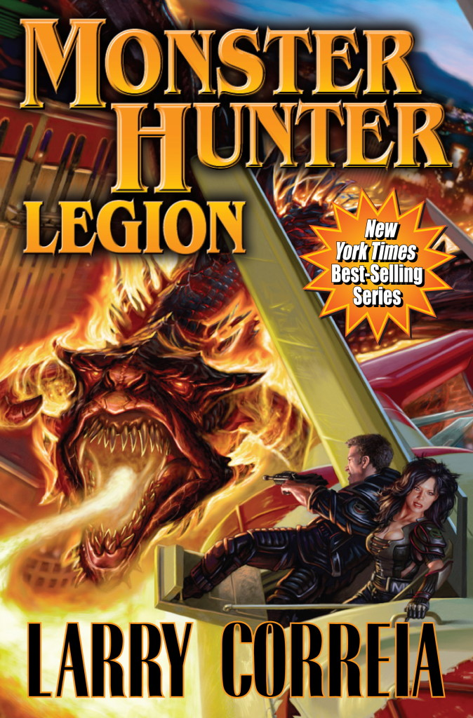"""Monster Hunter Legion"" by Larry Correia."