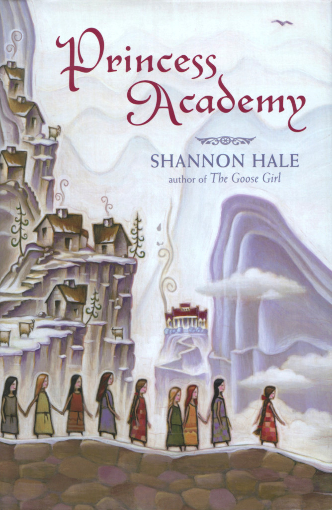 """Princess Academy"" by Shannon Hale."
