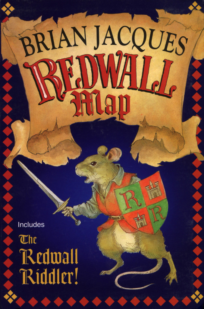 """Redwall Map"" by Brian Jacques."
