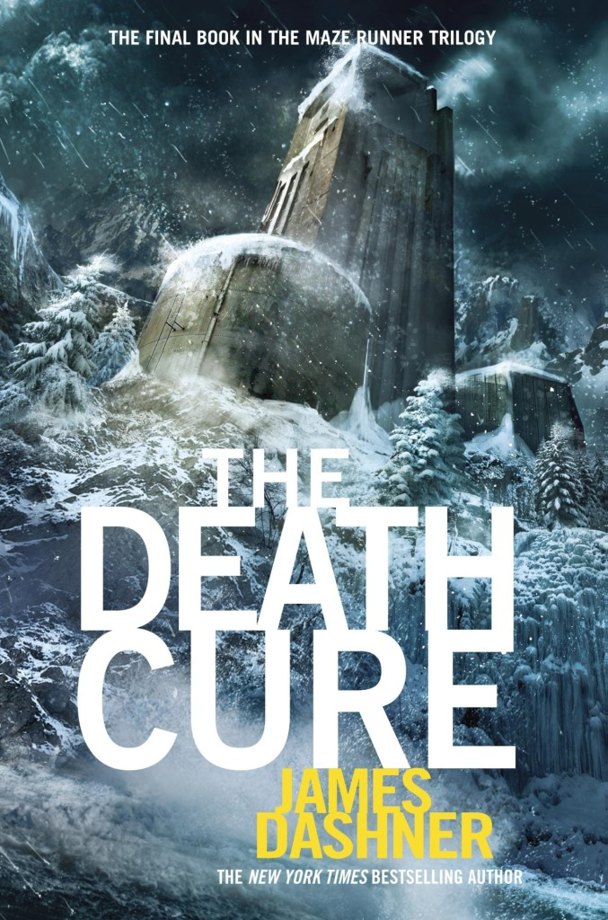 """""""The Death Cure"""" by James Dashner."""