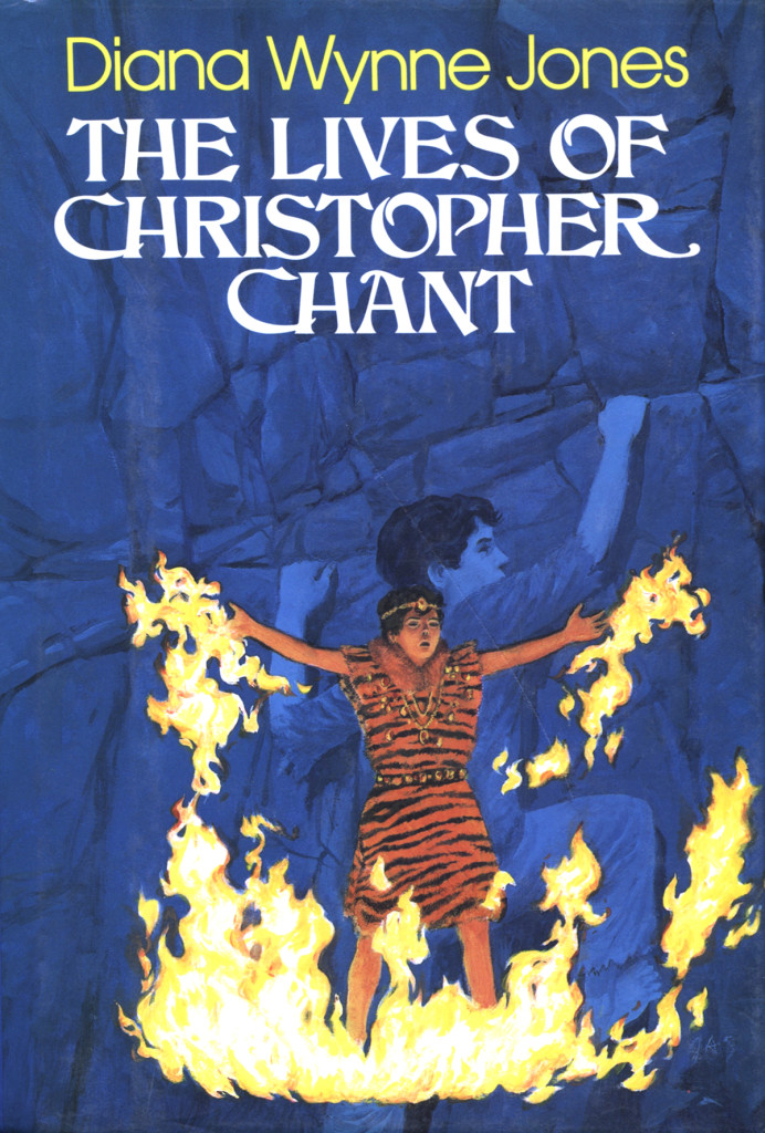"""""""The Lives of Christopher Chant"""" by Diana Wynne Jones."""