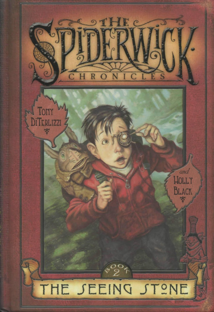 """The Seeing Stone"" by Tony DiTerlizzi and Holly Black."