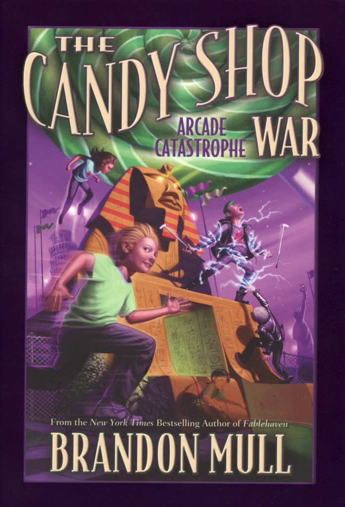 """Arcade Catastrophe"" by Brandon Mull."