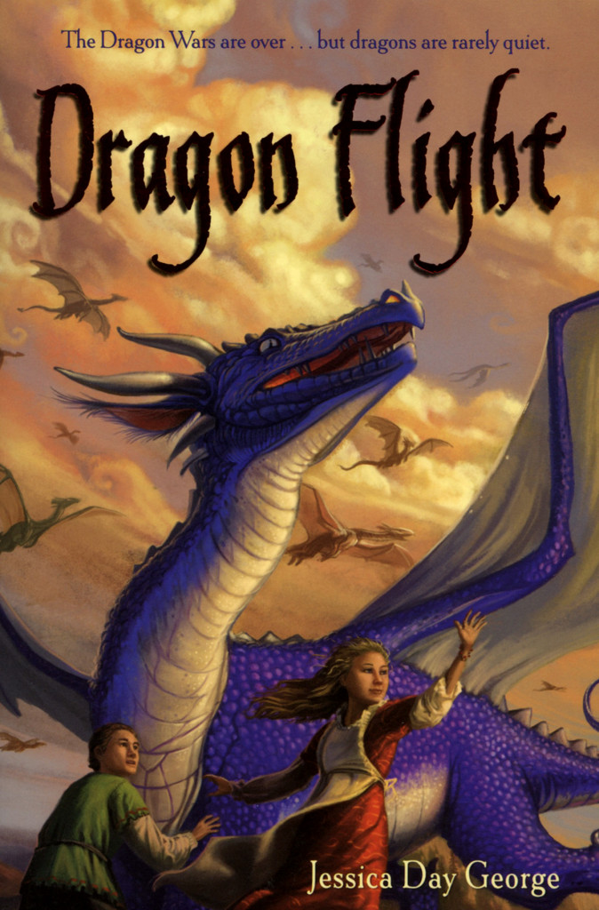 """Dragon Flight"" by Jessica Day George."