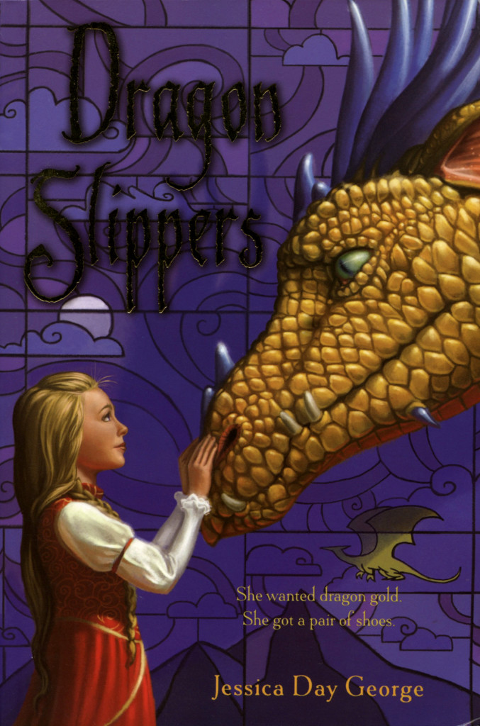 """""""Dragon Slippers"""" by Jessica Day George."""