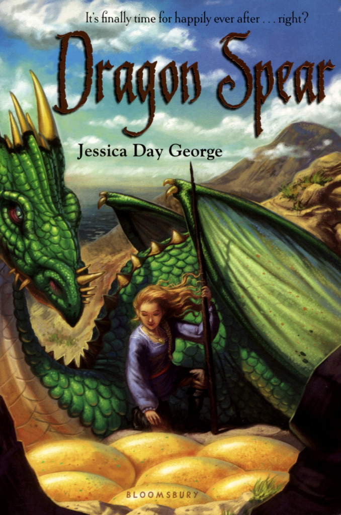 """""""Dragon Spear"""" by Jessica Day George."""