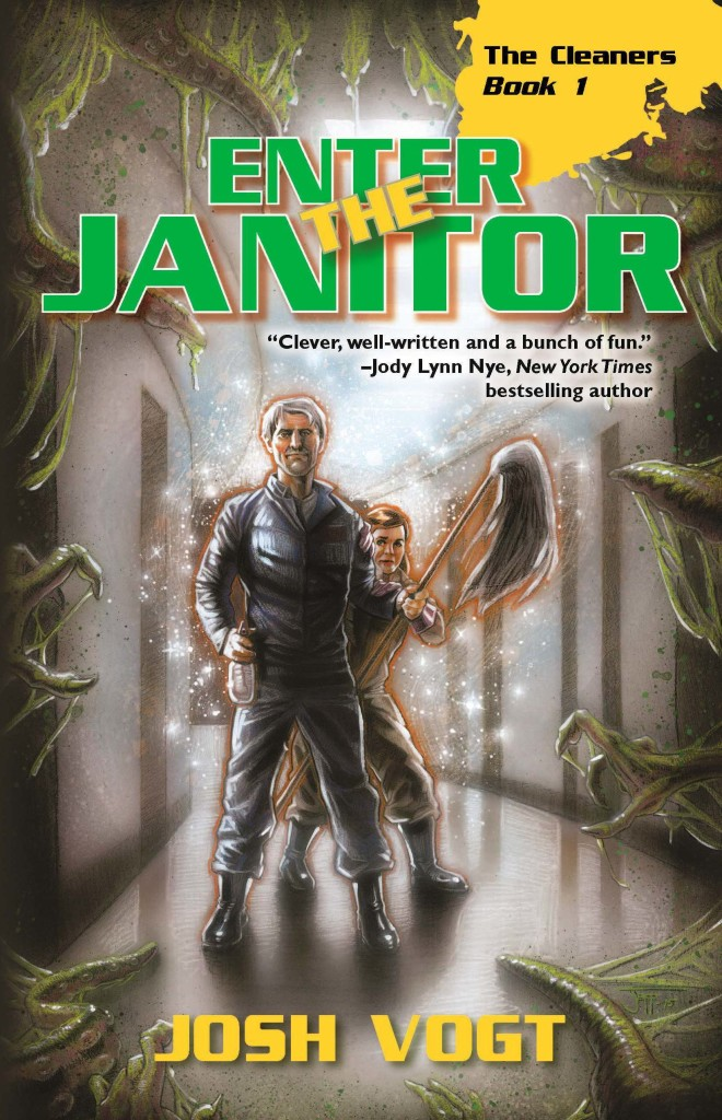 """Enter the Janitor"" by Josh Vogt."