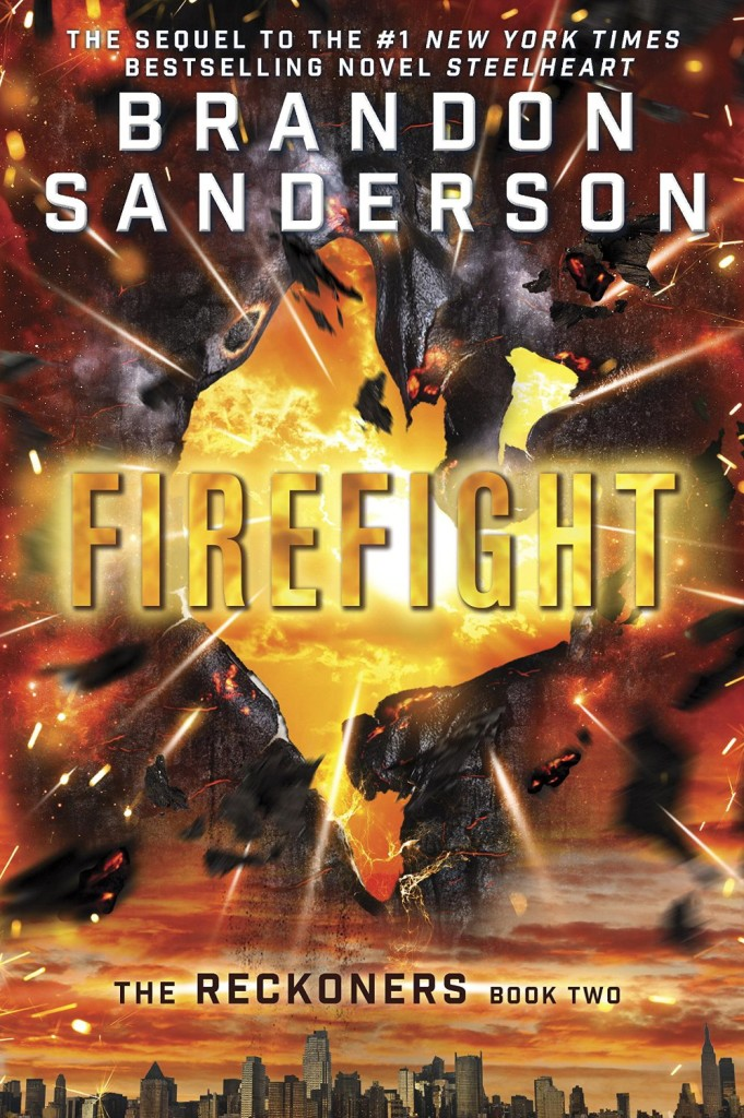"""Firefight"" by Brandon Sanderson."