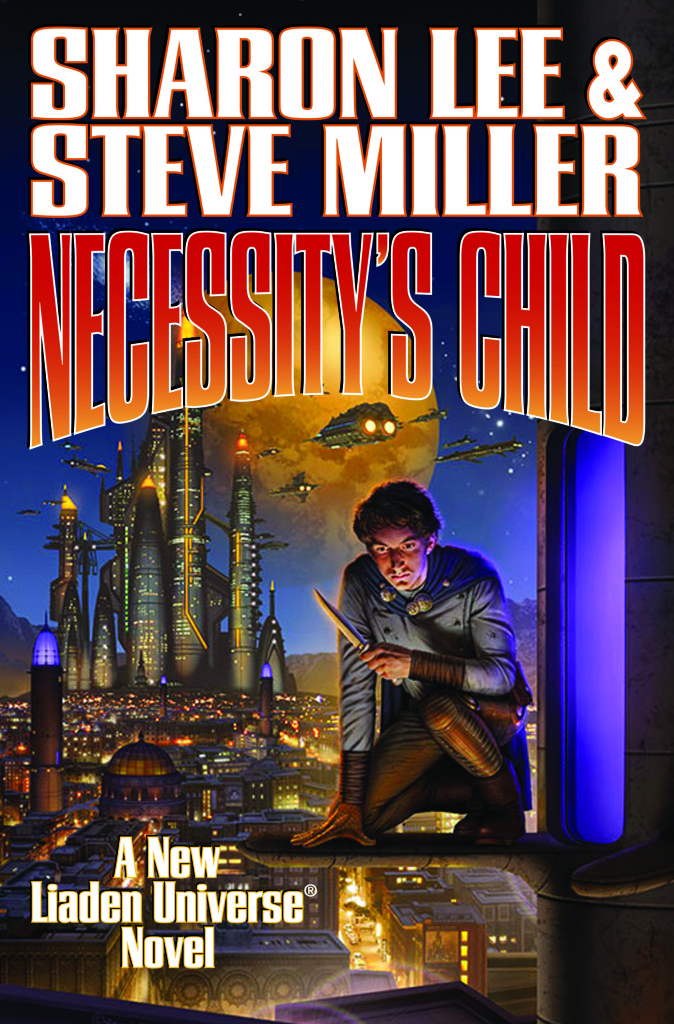 """Necessity's Child"" by Sharon Lee and Steve Miller."