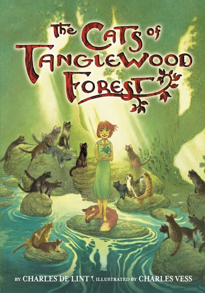 """The Cats of Tanglewood Forest"" by Charles de Lint."