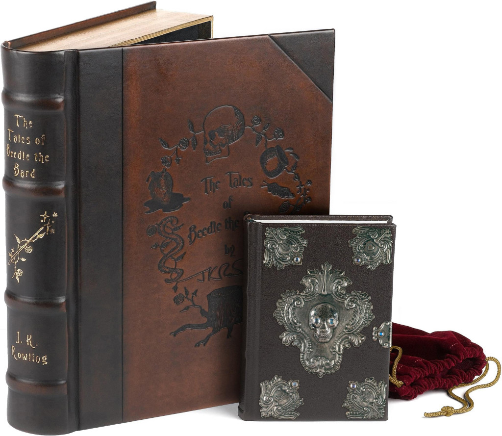 """The Tales of Beedle the Bard"" collector's edition by J.K. Rowling."