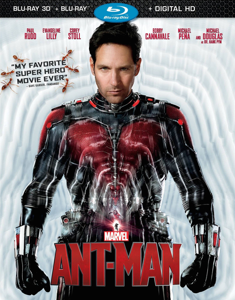 """Ant-Man"" blu-ray cover."