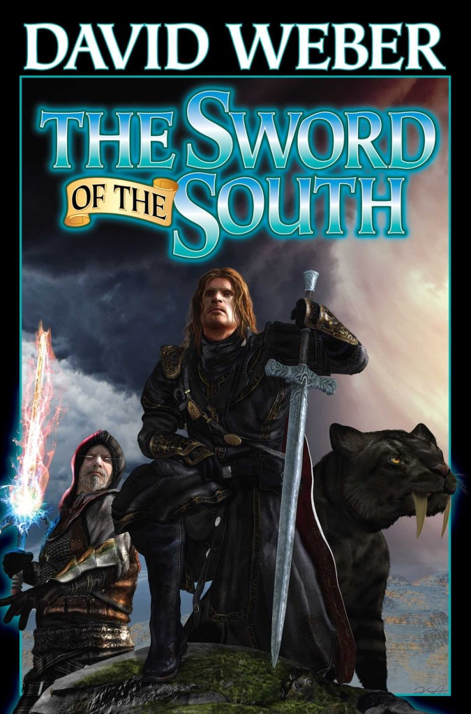 """""""The Sword of the South"""" by David Weber."""