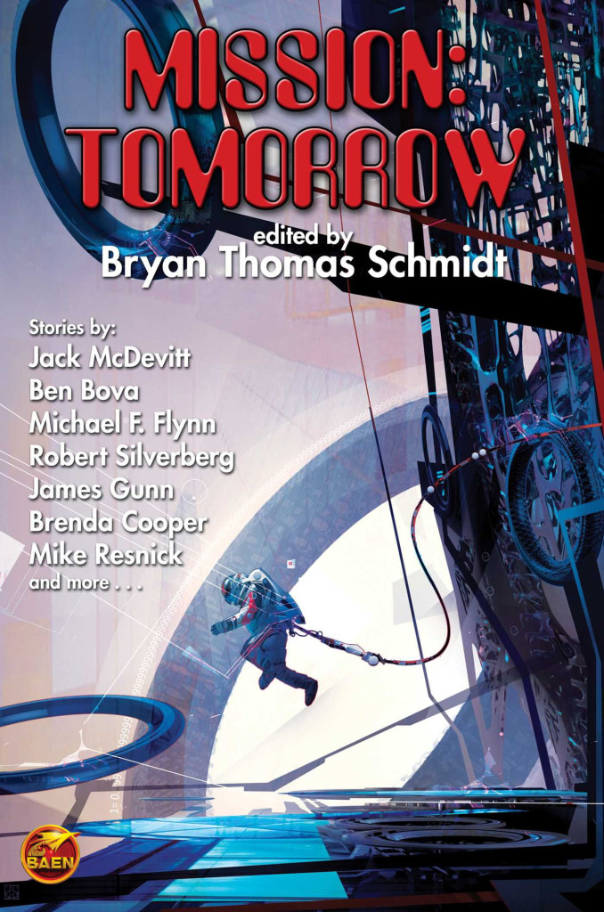"""Mission - Tomorrow"" edited by Bryan Thomas Schmidt."