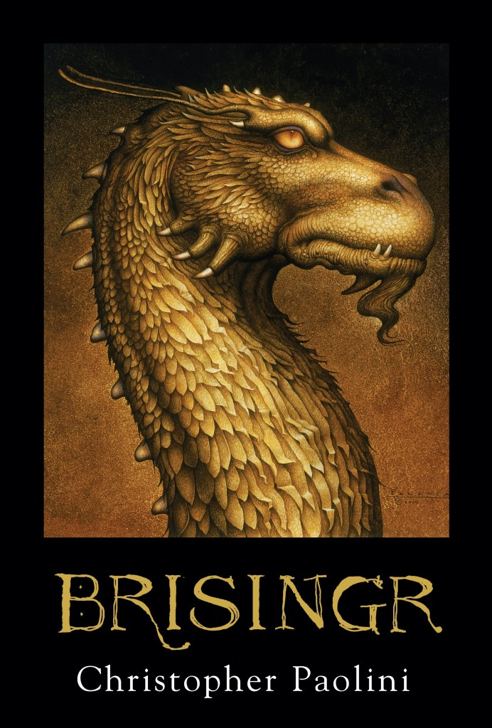 """""""Brisingr"""" by Christopher Paolini."""