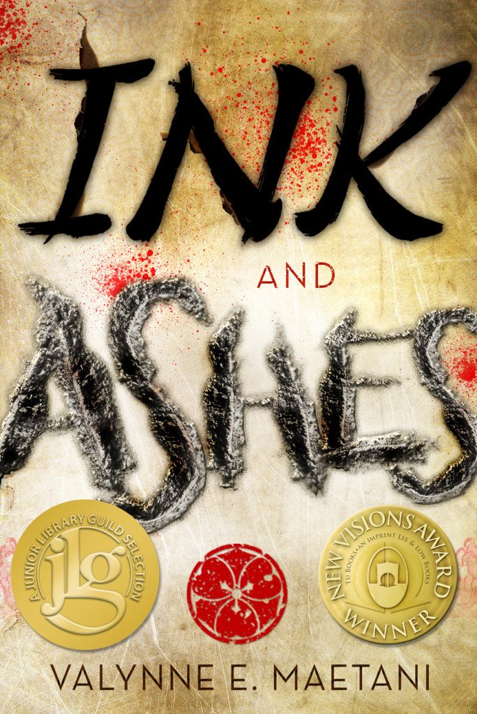 """Ink and Ashes"" by Valynne E. Maetani."