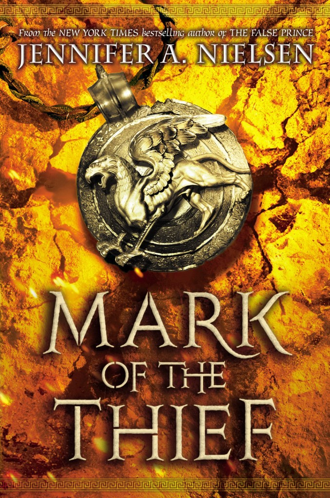 """Mark of the Thief"" by Jennifer A. Nielsen."