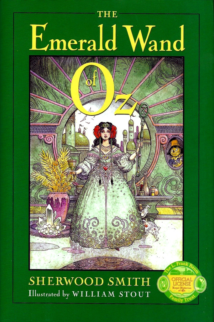 """The Emerald Wand of Oz"" by Sherwood Smith."
