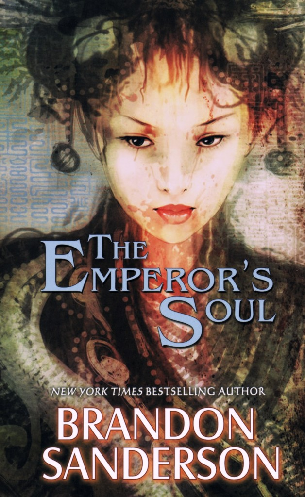 """The Emperor's Soul"" by Brandon Sanderson."