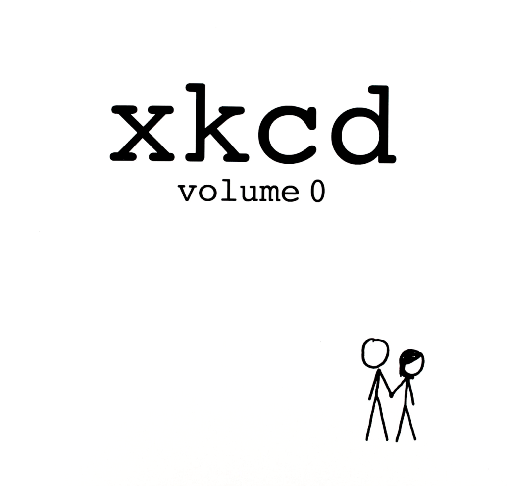 """xkcd volume 0"" by Randall Munroe."