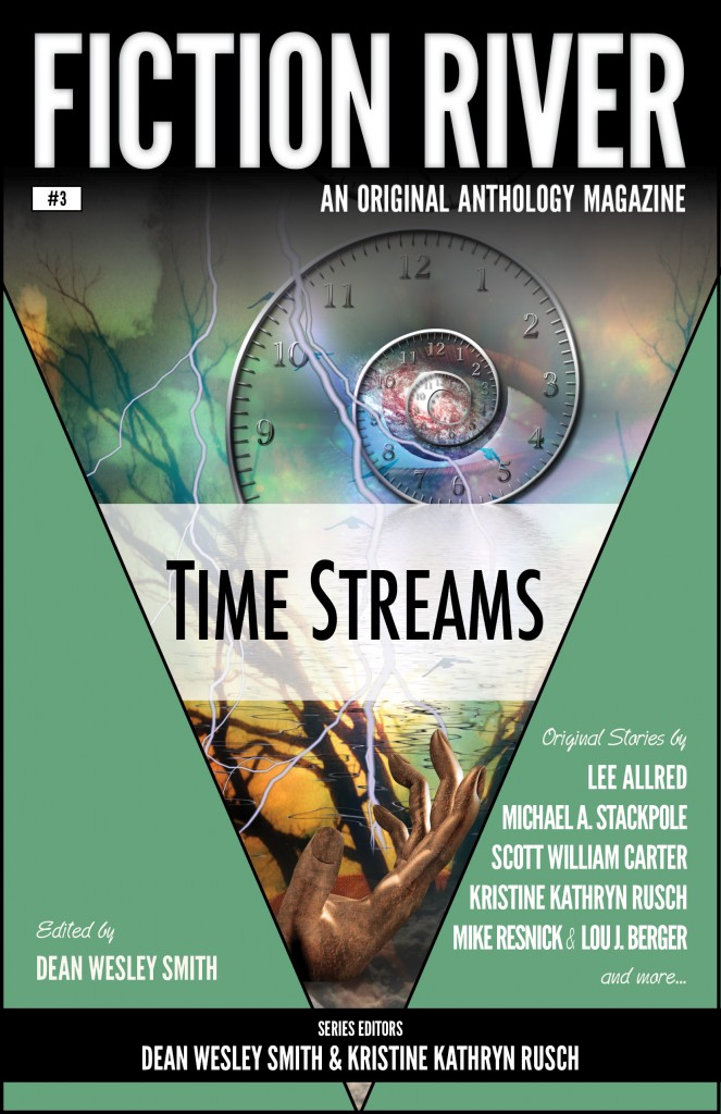 "Fiction River 3 - ""Time Streams"" - edited by Dean Wesley Smith."
