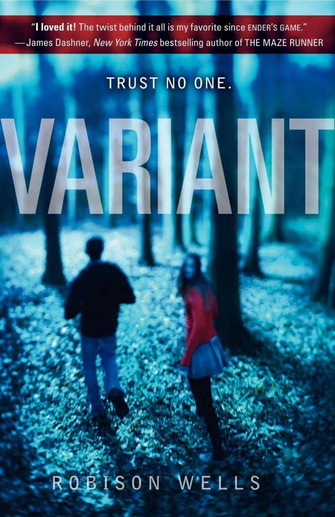 """Variant"" by Robison Wells."