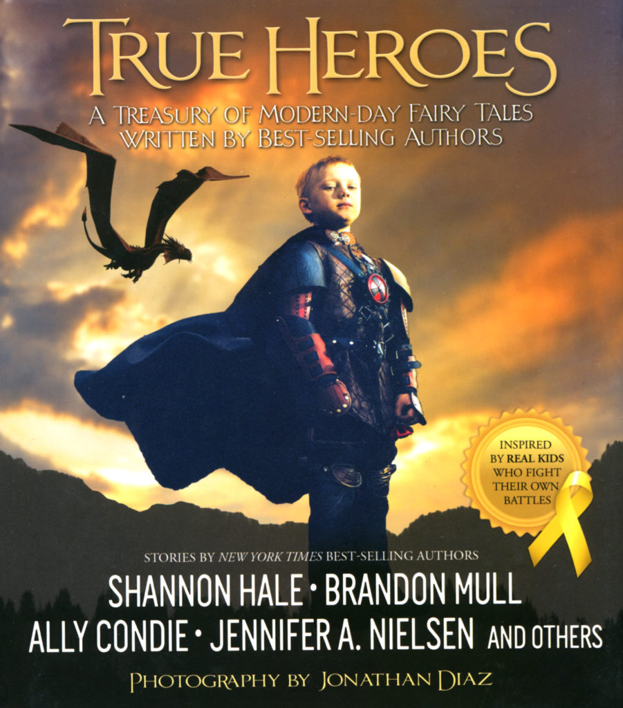 """True Heroes"" edited by Jonathan Diaz."