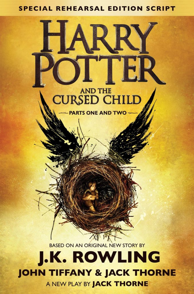 """Harry Potter and the Cursed Child - Parts One and Two"" Special Rehearsal Edition Script cover."