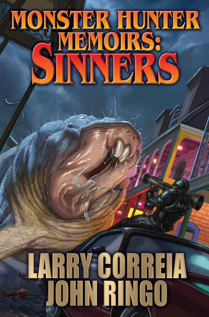 """Monster Hunter Memoirs - Sinners"" by Larry Correia and John Ringo."