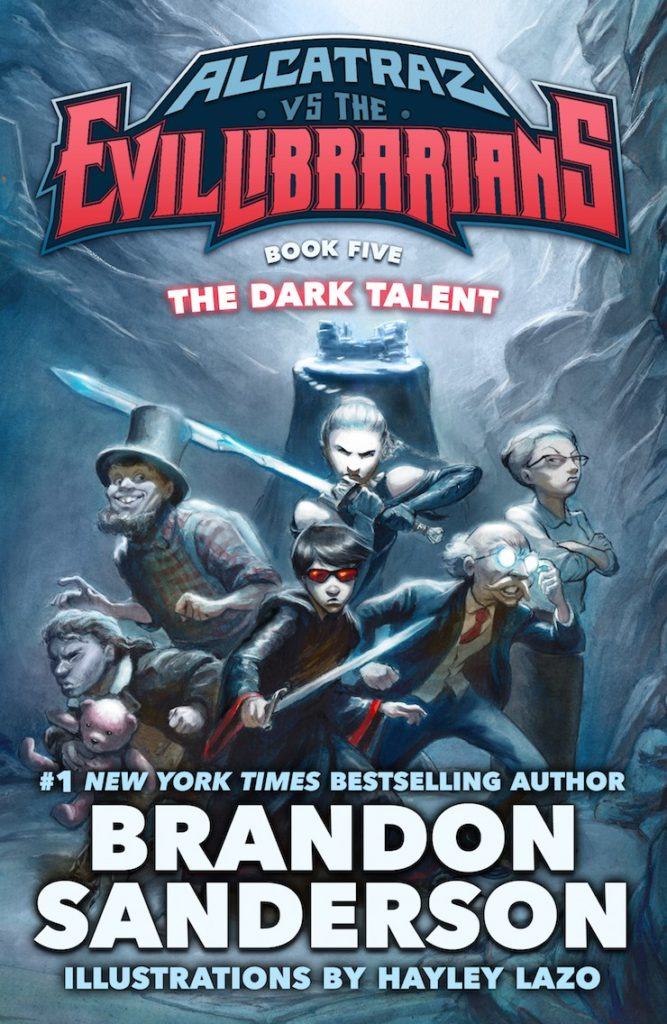 """The Dark Talent"" by Brandon Sanderson."