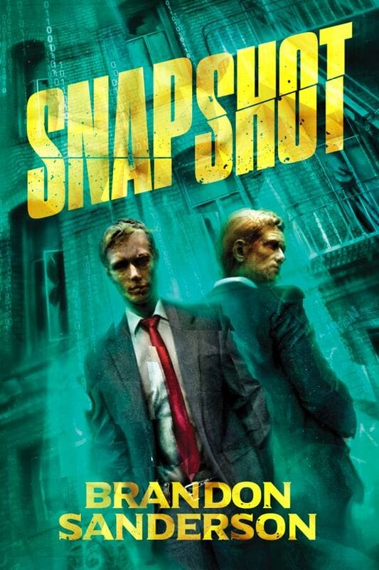 """Snapshot"" by Brandon Sanderson limited hardcover from Vault Books."