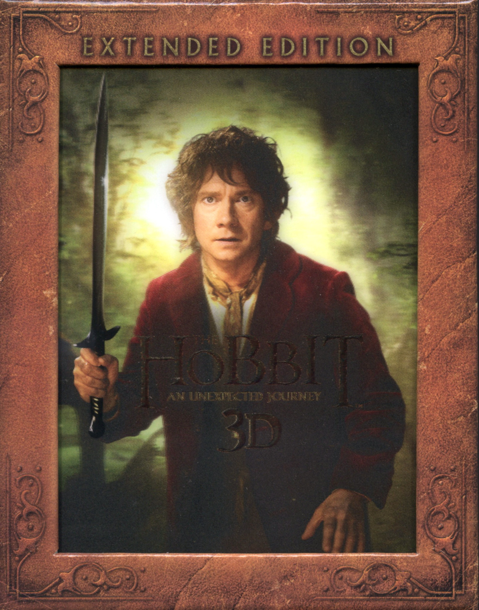 Hobbit unexpected journey 2012 bluray